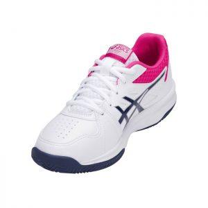 کفش تنیس و پدل اسیکس سفید مدل UPCOURT-3-کورت-مارکت-۰۱
