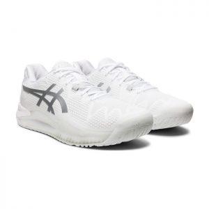 کفش تنیس و پدل اسیکس سفید مدل GEL RESOLUTION 8-کورت-مارکت-02